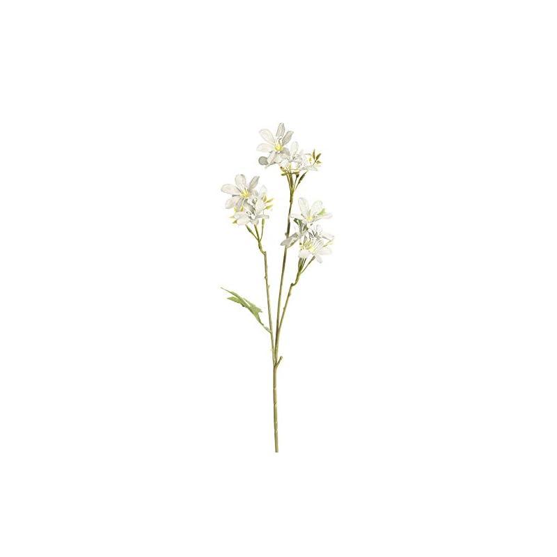 silk flower arrangements acamifashion christmas faux plants 1pc artificial flower freesia garden diy stage party home wedding craft decor - white