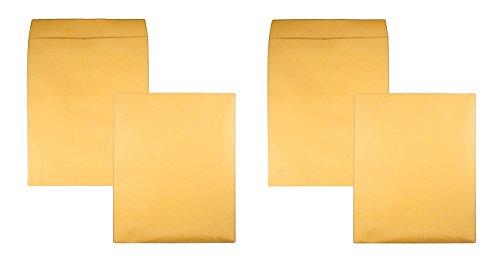 Quality Park 42354 Quality Park Jumbo Size Kraft Envelopes, 14x18, Brown Kraft, 25/Box (2 X 25 Pack)