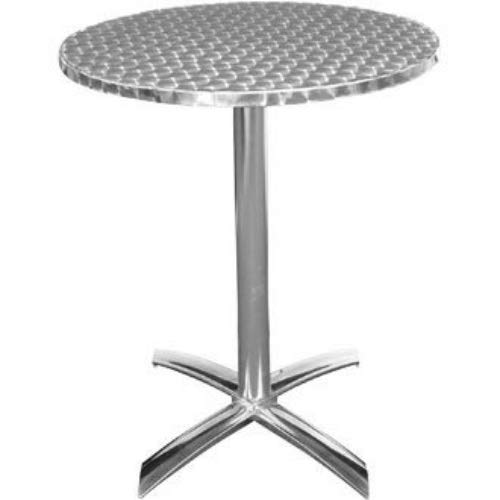 Bolero U423 Table rabattable en acier inoxydable 600 mm