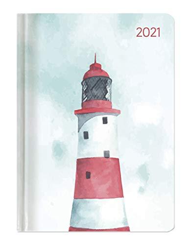 Alpha Edition - Agenda Settimanale Ladytimer 2021, Formato Tascabile 10,7x15,2 cm, Faro, 192 Pagine