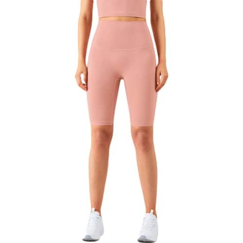 Pantalones cortos de yoga de cintura alta para mujer con control de barriga y cintura alta, 2, XL