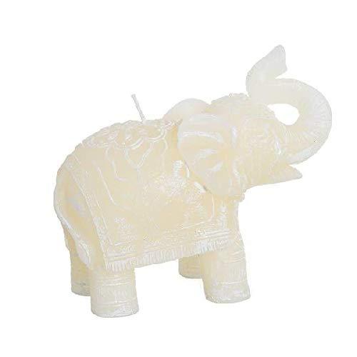 DCASA Kaars olifant ornamenten meubels sticker Home Decor Unisex Volwassenen veelkleurig (meerkleurig), uniek