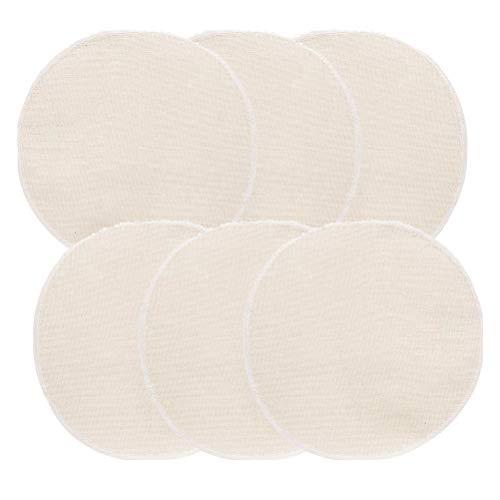 UPKOCH 10 pezzi di vaporizzatori in bambù tappetino per cottura a vapore in cotone, cesti a vapore per cottura a vapore, dimensioni 28 cm, panno di cotone riutilizzabili, Cotone, beige., 28cm