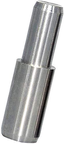 Silberne Zylinderbolzen Positionierstift Regalhalter aus Karbonstahl (20x6mm)