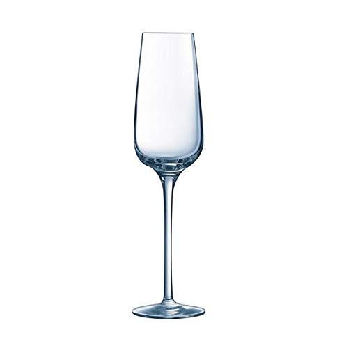 Visiodirect Lot de 24 Flûtes à Champagne Primary en cristallin - 21 cl