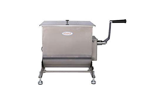 Hakka 60-Pound 30-Liter Capacity Tilt Tank Manual Meat Mixers