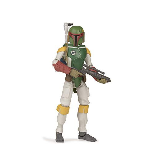 STAR WARS Galaxy of Adventures Boba Fett Toy 5-inch Scale Action Figure with Fun Projectile Feature, Toys for Kids Ages 4 and Up