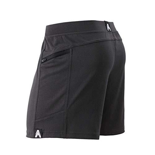 Anthem Athletics Hyperflex 5' Workout Training Gym Shorts - Volcanic Black G2 - Medium