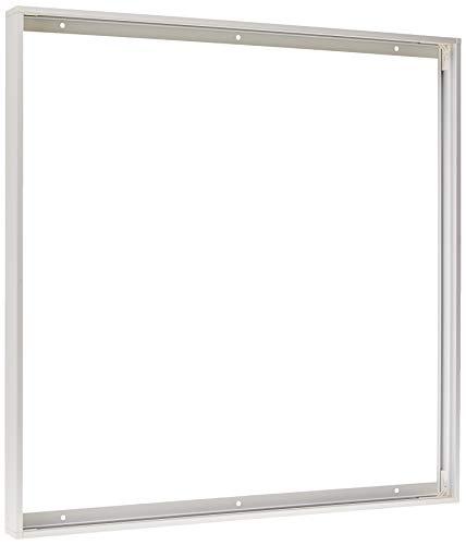 Jandei - Marco panel led 60 * 60 superficie blanco