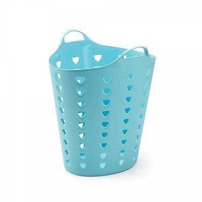 Kreher Flexibler 65 Liter Tragekorb Flexi Tub (Blau)
