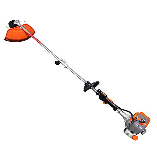 PROYAMA 26cc 2 in 1 Extreme Duty 2-Cycle Gas Dual Line Trimmer and Brush Cutter, Grass Trimmer, Weed Eater