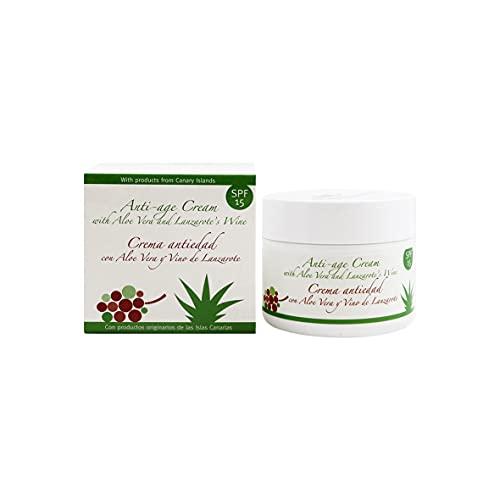 Thermal Teide 170160 - Crema facial antioxidante con aloe y vino de lanzarote, 100 ml