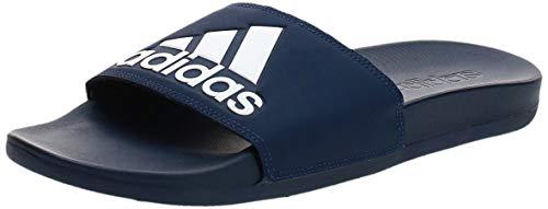 adidas Adilette Comfort, Zapatos de Playa y Piscina para Hombre, Azul Azuosc Ftwbla Azuosc 000, 43 EU
