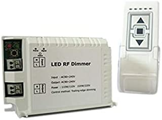 Varialuce Led Triac Dimmer SCR 220V 200W Telecomando Wireless Per Luci Lampade Led Dimmerabile DM014