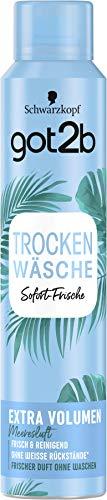 Schwarzkopf got2b Trockenshampoo Trockenwäsche Extra Volumen, 1er Pack (1 x 200 ml)