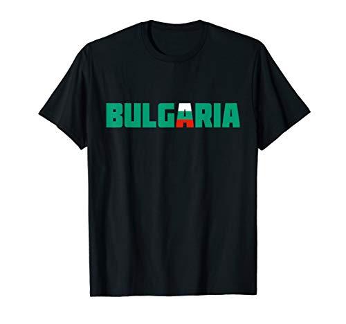 Bulgarien | Bulgaria Flag Colors Gift Souvenir Travel T-Shirt