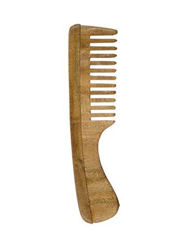 Holisan Neem houten kam handvat grof