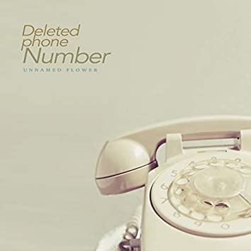 지워진 전화번호