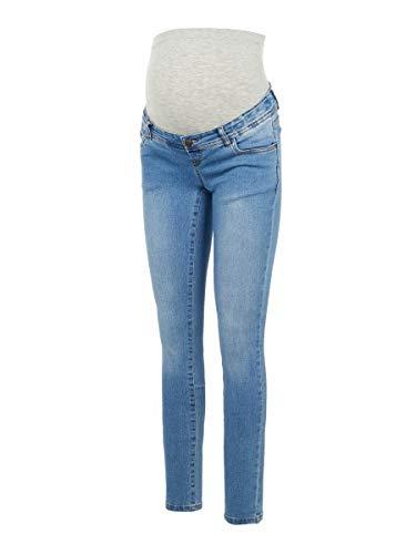 MAMALICIOUS Damen MLONO Slim A. NOOS Jeans, Wash:Washed Light Blue Denim, 32/32