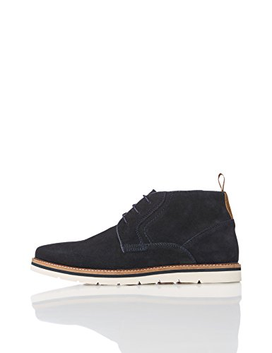 find. Mellor Chukka Boots, Blau (Navy), 45 EU