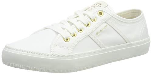 GANT Footwear Damen Zoee Sneaker, Weiß (Bright White G290), 36 EU
