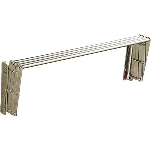 MHCYKJ Tendedero Pared Exterior Inoxidable Extensible De Metal PráCtico Tendal Plegable para...