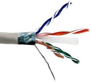 Kentek 1000 Feet FT Sales results No. 1 CAT6 STP Stranded Bulk AWG 24 Cable Copper Soldering C