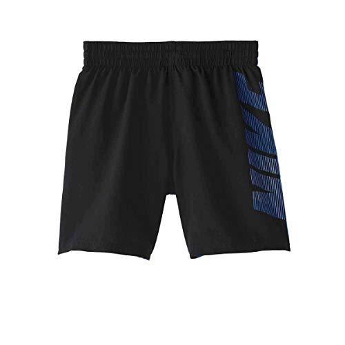 Nike Lbf6 Ness9657 Badehose Kinder S Schwarz/Lila