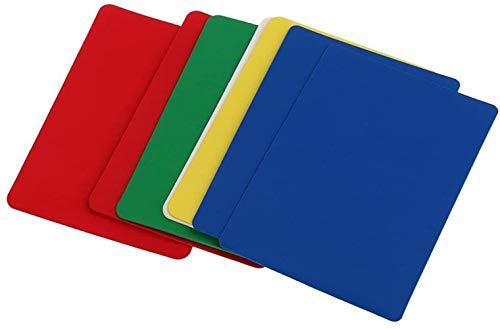 hsj LF- Spielzeug 10 Stück Kunststoff-Poker Size Cut-Karten-Schutz for Poker Blackjack Spiele Parts Lernen
