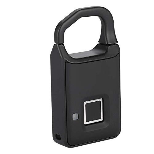 Suitcase Fingerprint Lock Tricolor Light Design Smart Fingerprint Lock, Smart Padlock, Anti-theft Locker for Home Luggage Drawer 20