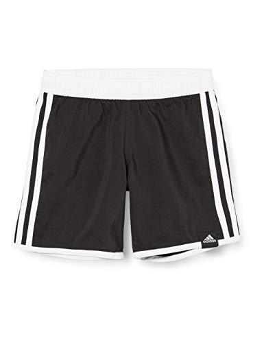adidas Jungen 3-Streifen Badeshorts, Black, 176