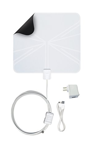 Winegard FL-55YR FlatWave Amplified Razor Thin HDTV Indoor Antenna (Renewed)