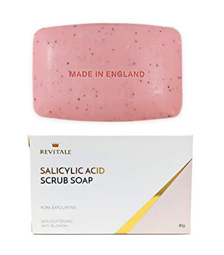Revitale Salicylic Acid Scrub Soap, Pore Exfoliating, Softening Skin,...
