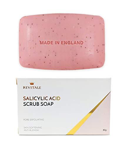 Pommade de savon à l'acide salicylique exfoliant, lutte contre l'acné, peau adoucissante, anti-imperfections, élimine les verrues