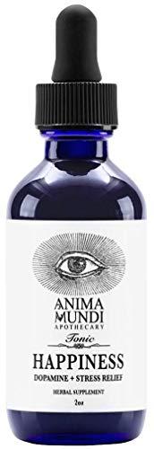Anima Mundi Happiness Tonic - Mood Support with Organic Mucuna + St. John's Wort (2oz / 59ml)