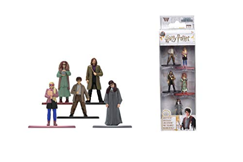 Dickie Toys 253180004 5-Pack, Die-Cast Nano, Set, Figuren, Harry Potter Sammelfiguren, Mehrfarbig
