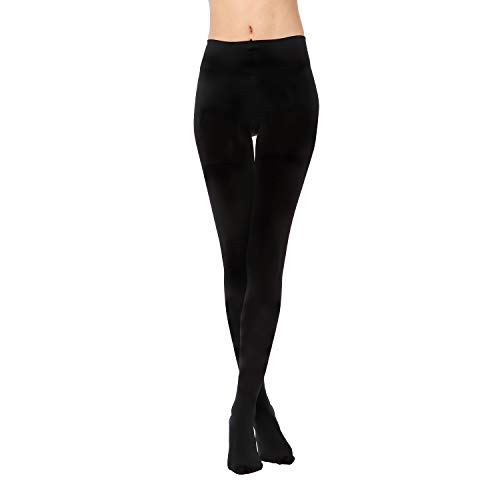 (40% OFF) 1 Pair Opaque Control Top Tights $5.39 Deal
