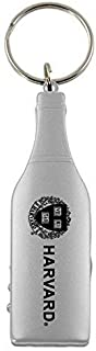 LXG, Inc. Harvard University-Wine Shaped Bottle Opener-Silver