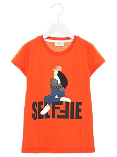 Luxury Fashion | Fendi Meisjes JFI1677AJF0BXA Rood Katoen T-shirts | Herfst-winter 19