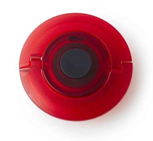 Adhoc 78TE11 SANTEA Tea Egg with Hourglass Black Plastic Small