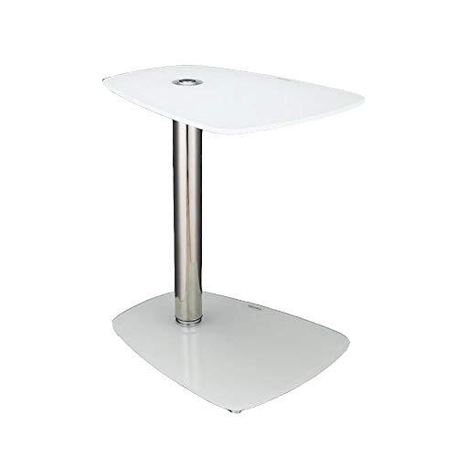 Tables FEI - Bureau d'ordinateur d'ordinateur Portable d'ordinateur de Bureau Amovible pour Tous Les postes de Travail (Couleur : Blanc)