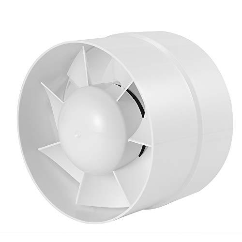 """Winbang Ventilador Extractor, Ventilador de conducto silencioso Extractor en línea Ventilador de Tubo Ventilador Extractor de baño 6""""/ 5"""" / 4"""" (4"""" 100mm)"""