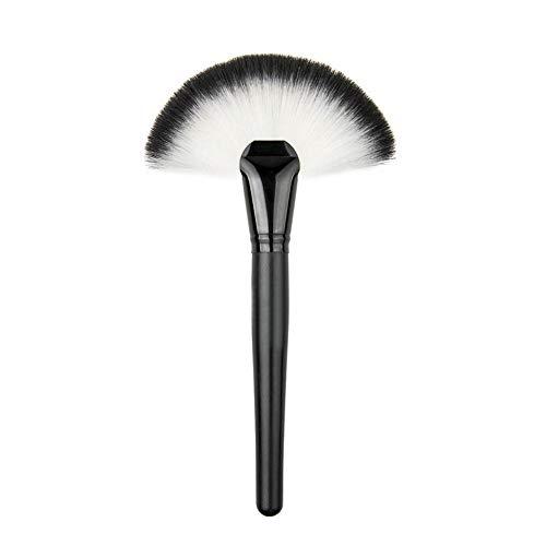 Mayyou Pincel de Maquillaje, brocha en Forma de Abanico en Polvo Foundation Concealer puliendo el Estippling