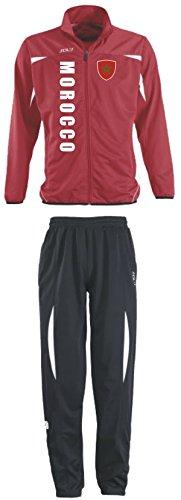 Aprom-Sports Marokko Trainingsanzug - Sportanzug - S-XXL - Fußball Fitness (M)