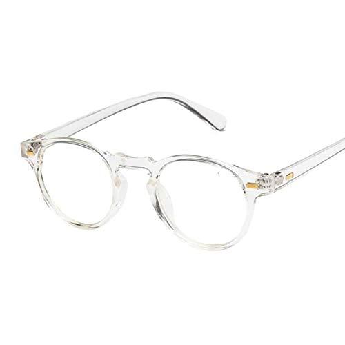 HAOMAO Gafas de Sol pequeñas ovaladas de Tonos Transparentes de Tendencias Uv400 para Mujer Transparentes