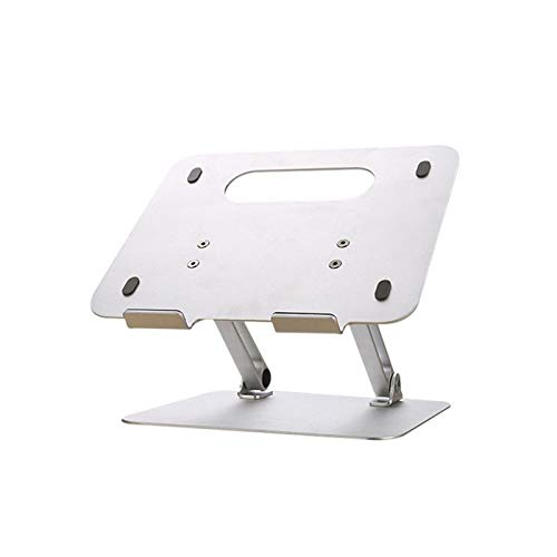 ROGF Computer stand Multifunctional Universal Computer Stand Suitable For Laptops And Tablets For laptop (Color : Silver, Size : 270x234x20mm)
