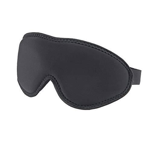Slaap masker, 3D Contour Eye Mask voor Slapen met Verstelbare Band,Zijde Schuim Blindfild Blackout Slaap Masker voor Vrouwen Mannen Reizen Nap Night's Slapen