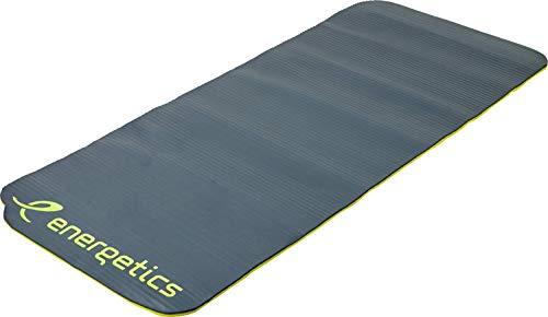 ENERGETICS Unisex– Erwachsene Gymnastik-Matte-241748 Gymnastik-Matte, Grey/Yellow, One Size