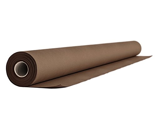 Alvotex Airlaid tafelkleed fleece CHIC, bruin, 24m x 1,2m