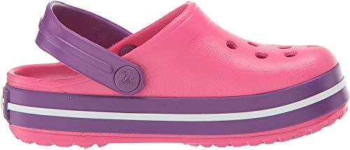 crocs Crocband Clog Zoccoli Unisex - Bambini, Rosa (Paradise Pink/amethyst), 19-20 EU (C4 UK)